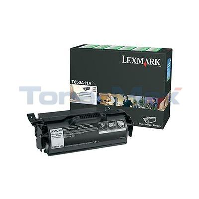 LEXMARK T650N RP PRINT CARTRIDGE BLACK 7K